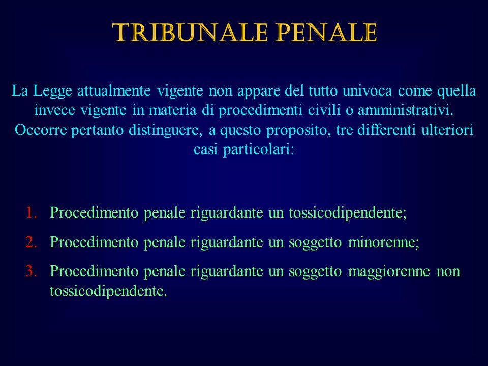 TRIBUNALE PENALE