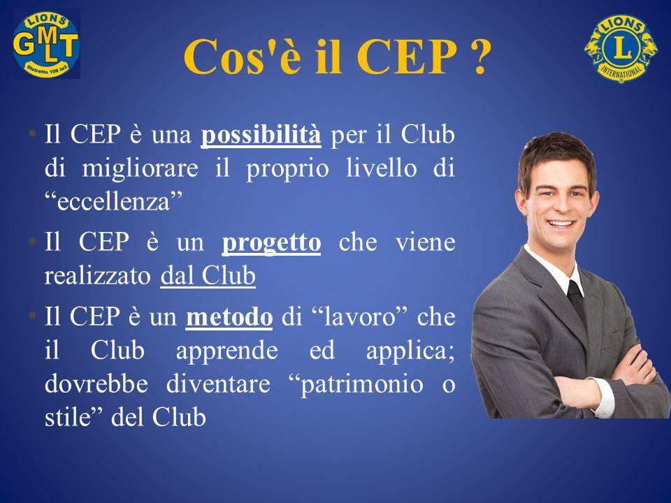 Cos è il CEP Il CEP è una possibilità per il Club di migliorare il proprio livello di eccellenza