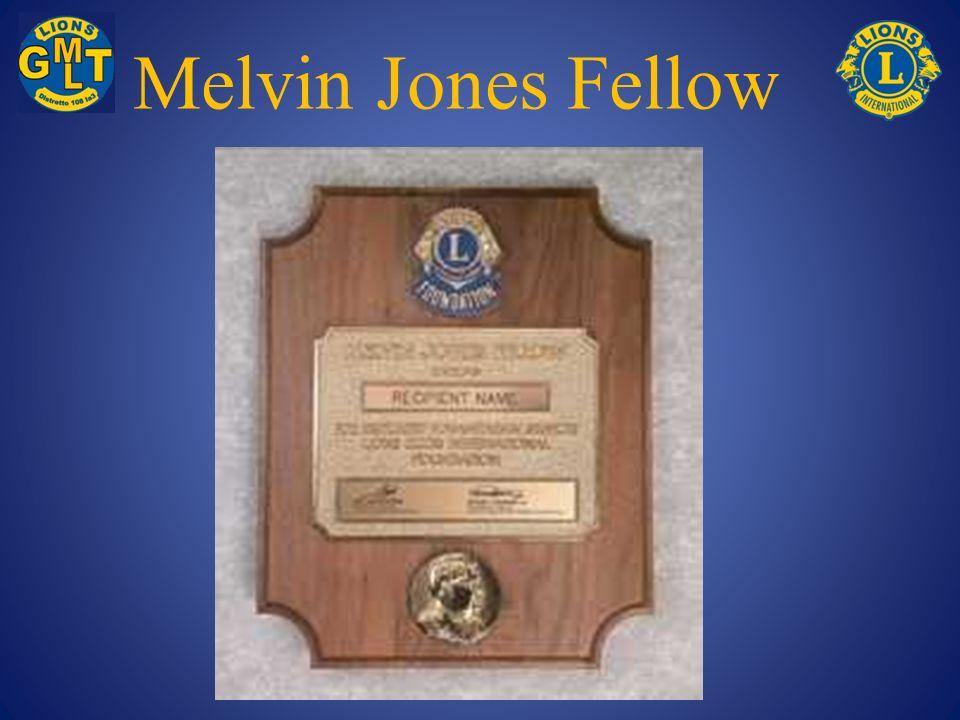 Melvin Jones Fellow
