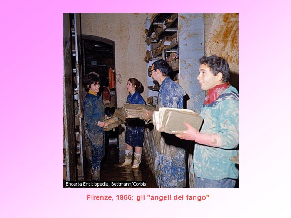 Firenze, 1966: gli angeli del fango