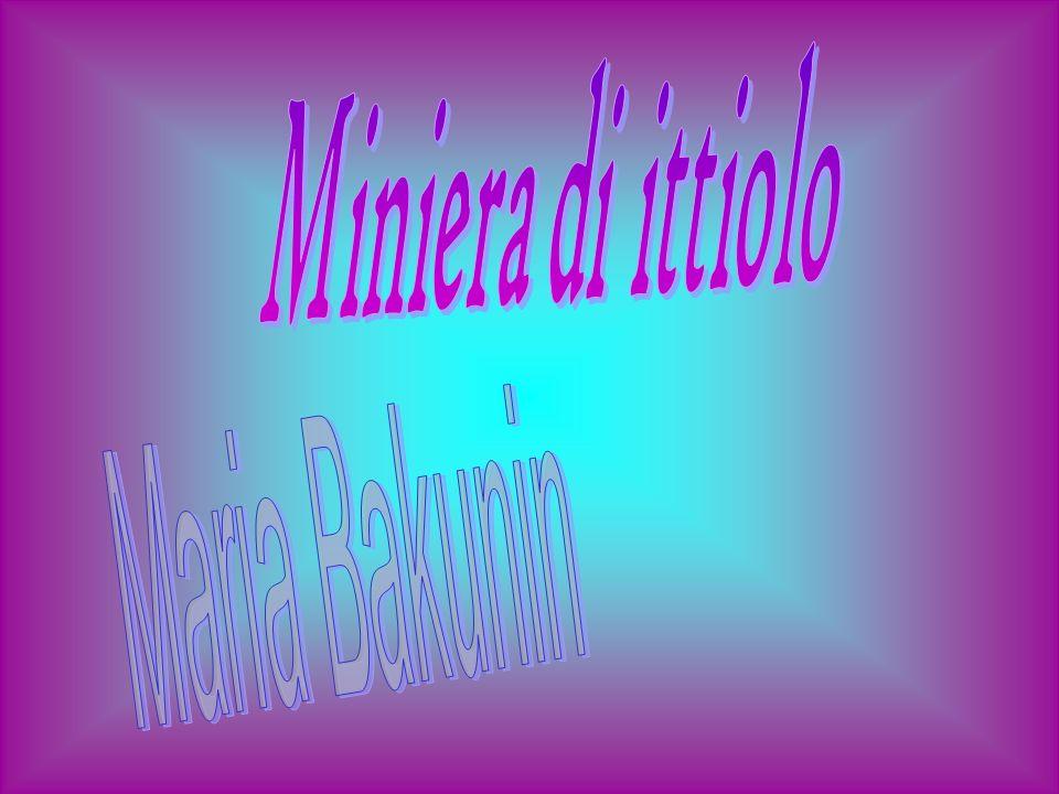 Miniera di ittiolo Maria Bakunin
