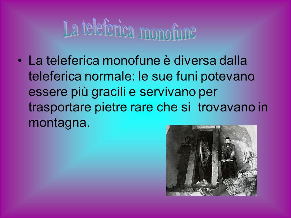 La teleferica monofune