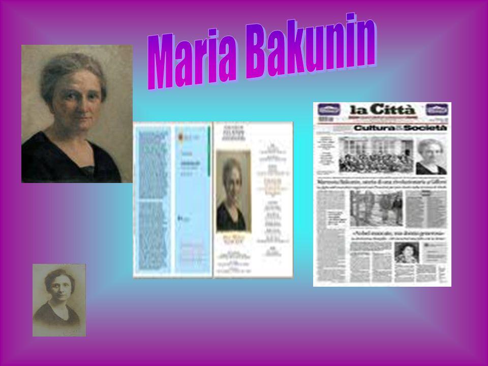 Maria Bakunin