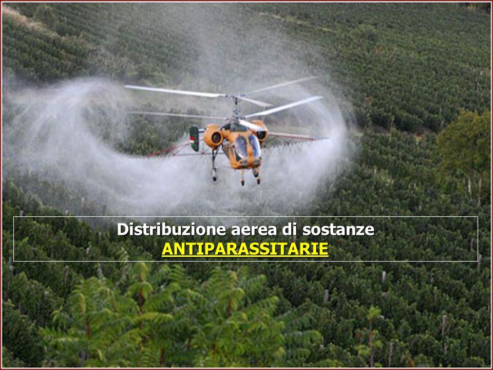 Distribuzione aerea di sostanze