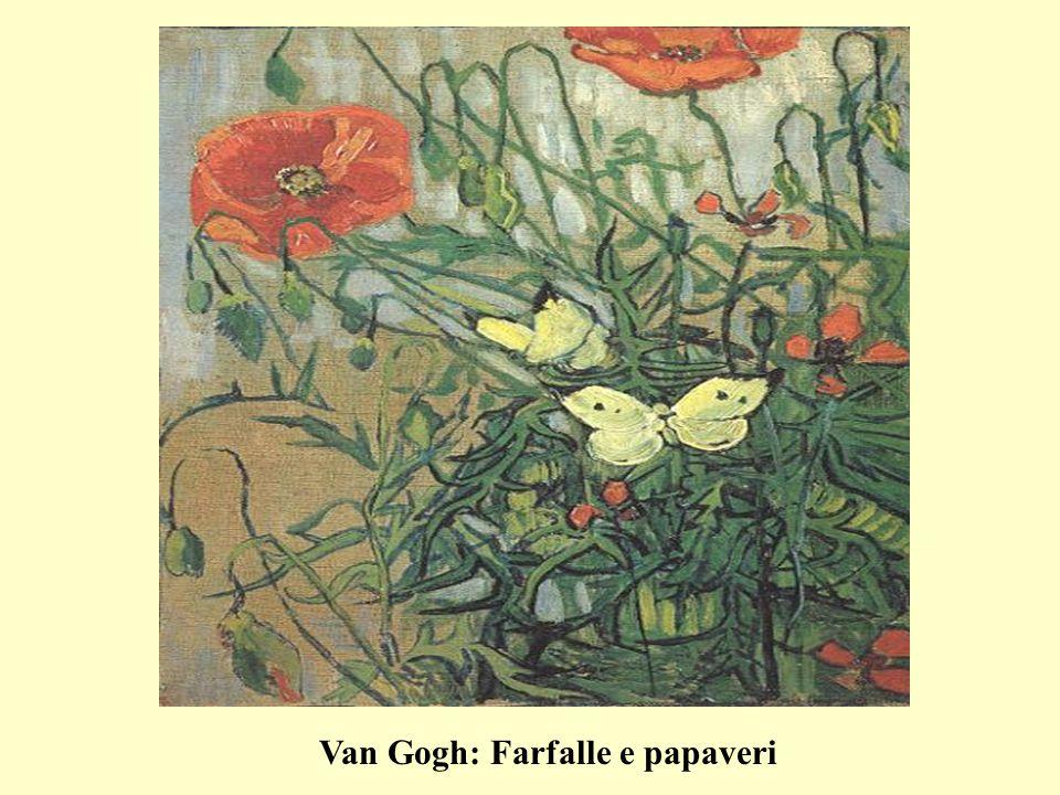 Van Gogh: Farfalle e papaveri
