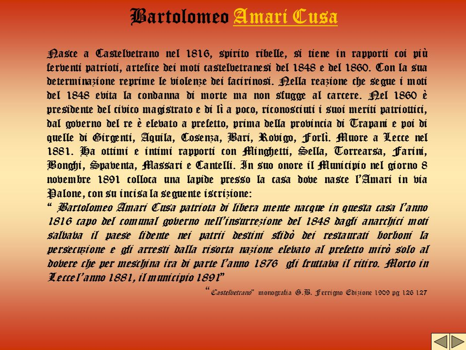 Bartolomeo Amari Cusa