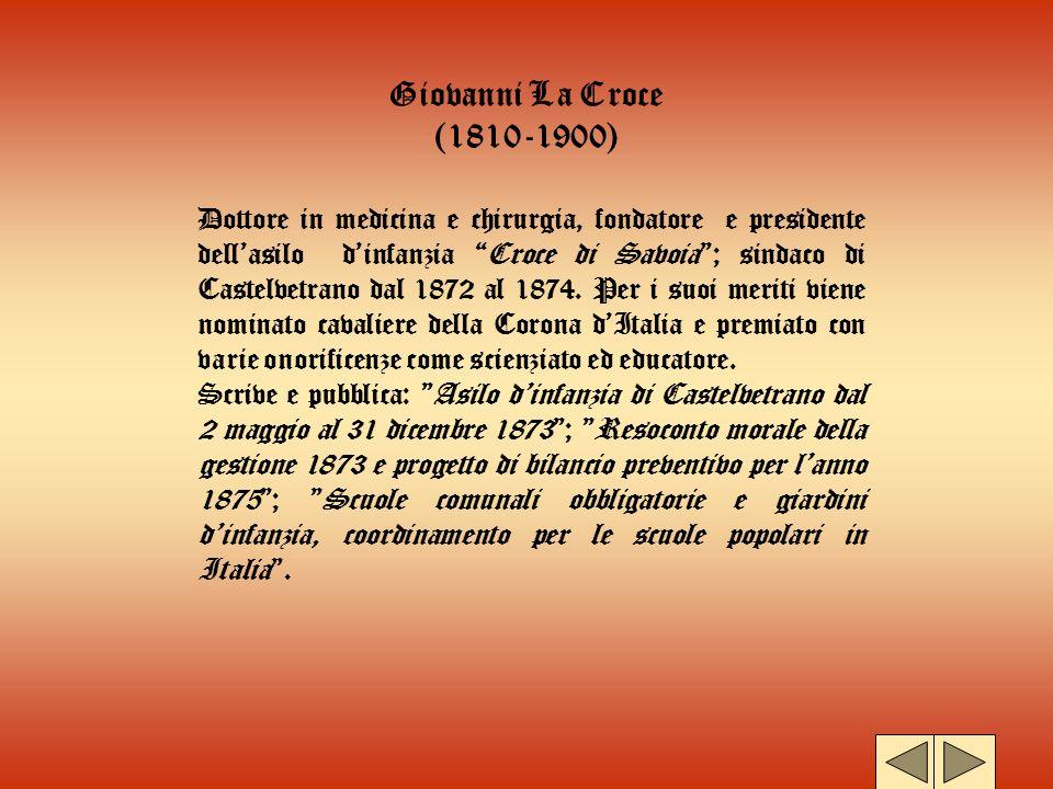 Giovanni La Croce (1810-1900)
