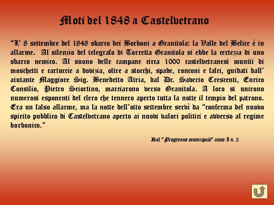 Moti del 1848 a Castelvetrano
