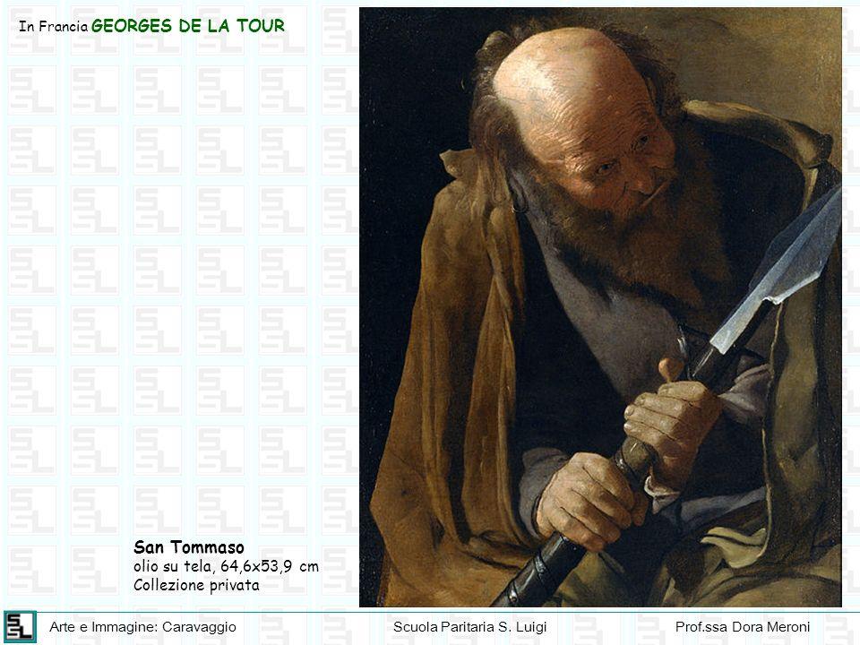 San Tommaso olio su tela, 64,6x53,9 cm Collezione privata