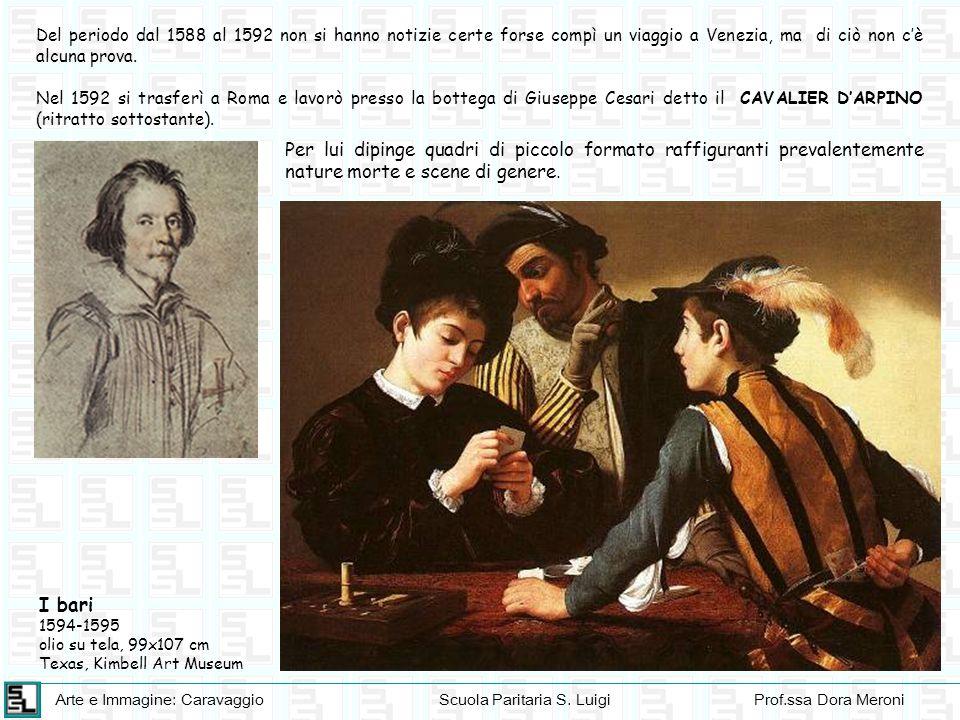 Del periodo dal 1588 al 1592 non si hanno notizie certe forse compì un viaggio a Venezia, ma di ciò non c'è alcuna prova.