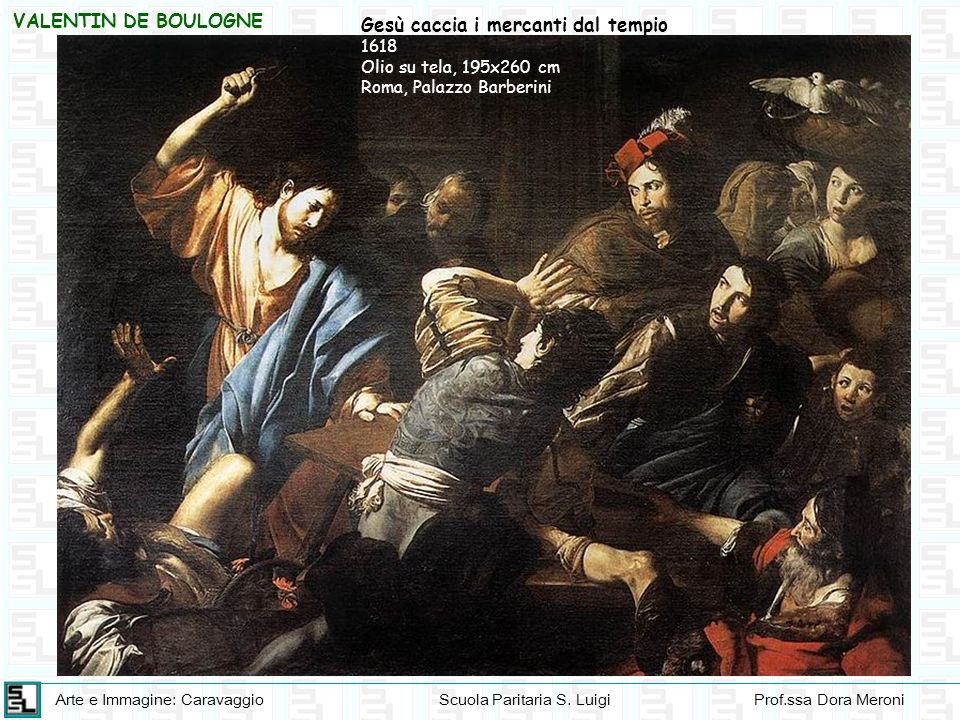 Gesù caccia i mercanti dal tempio
