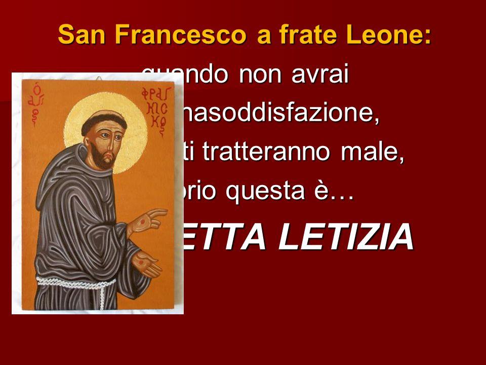 San Francesco a frate Leone: