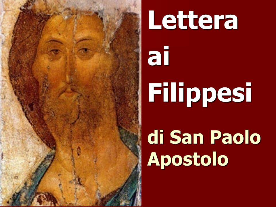 Lettera ai Filippesi di San Paolo Apostolo
