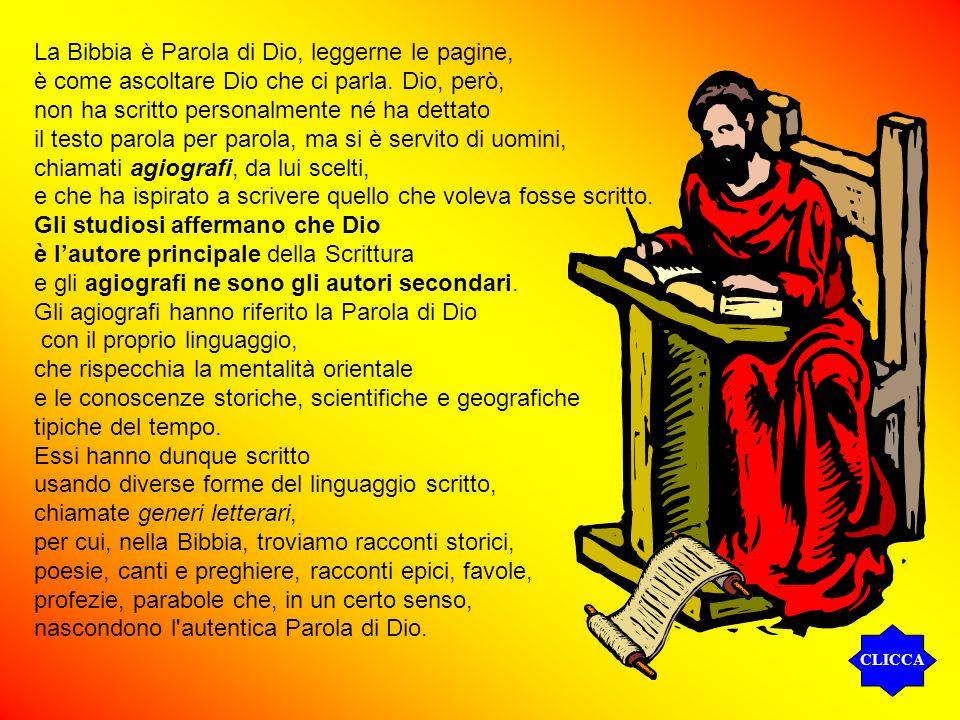 La Bibbia è Parola di Dio, leggerne le pagine,