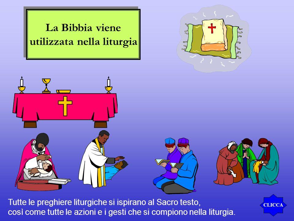 utilizzata nella liturgia