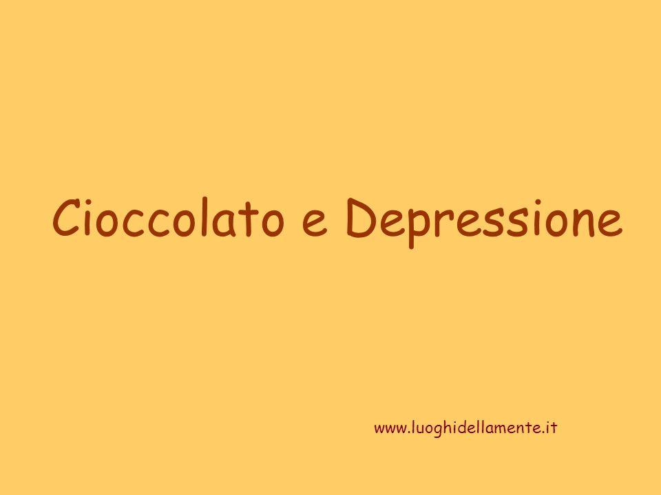 Cioccolato e Depressione