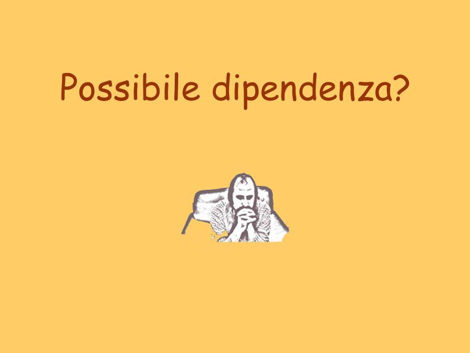 Possibile dipendenza