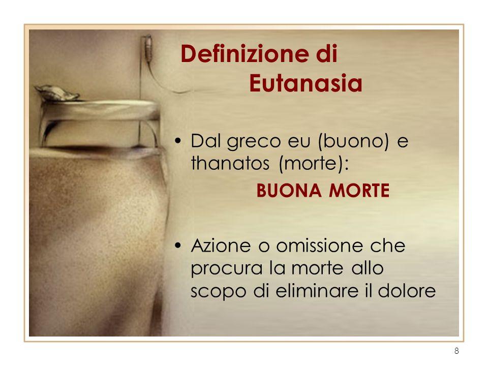 Definizione di Eutanasia