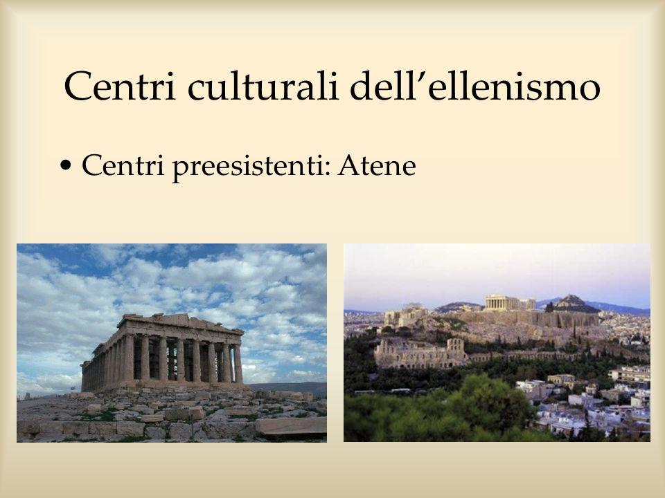 Centri culturali dell'ellenismo