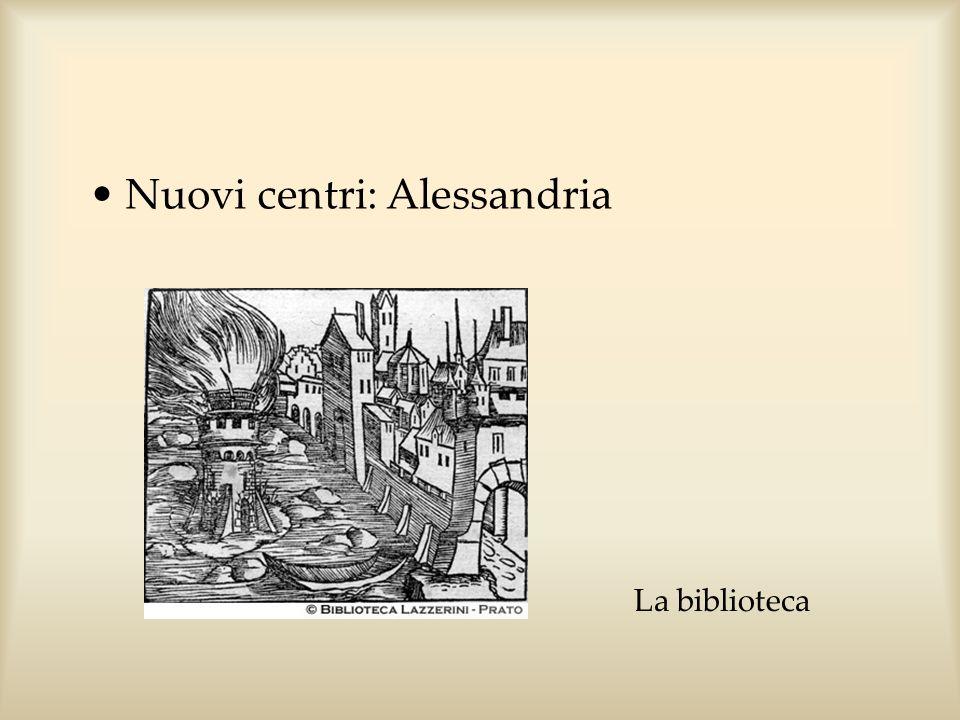 Nuovi centri: Alessandria