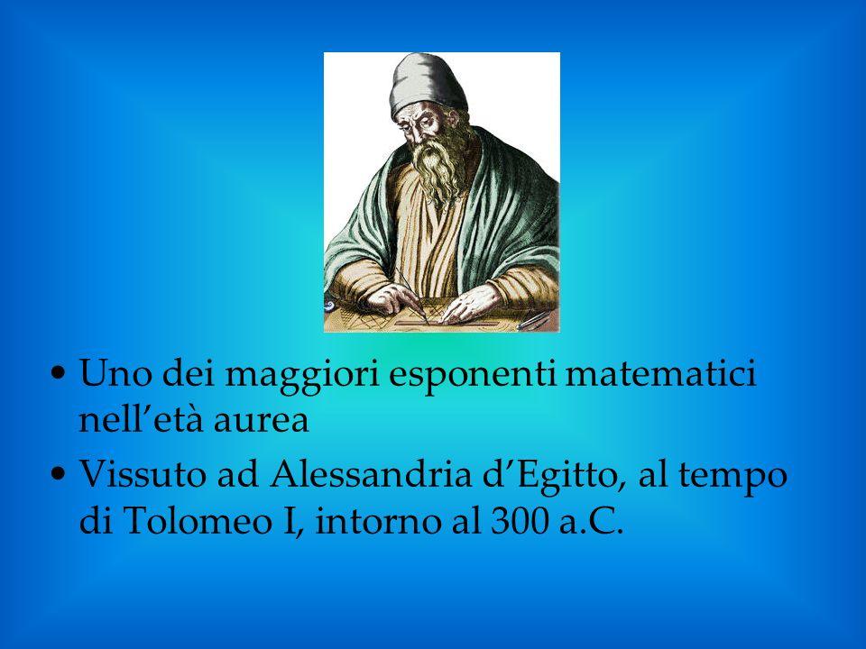 Uno dei maggiori esponenti matematici nell'età aurea