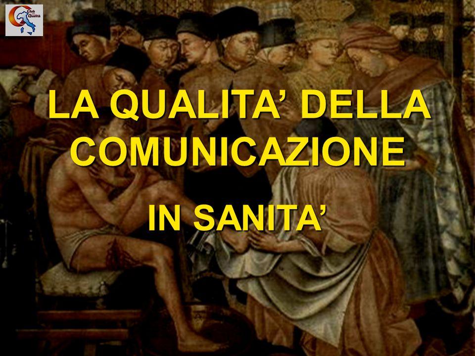 LA QUALITA' DELLA COMUNICAZIONE