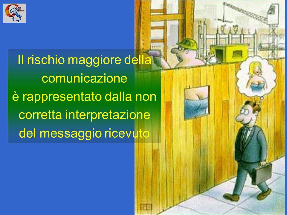 Il rischio maggiore della comunicazione