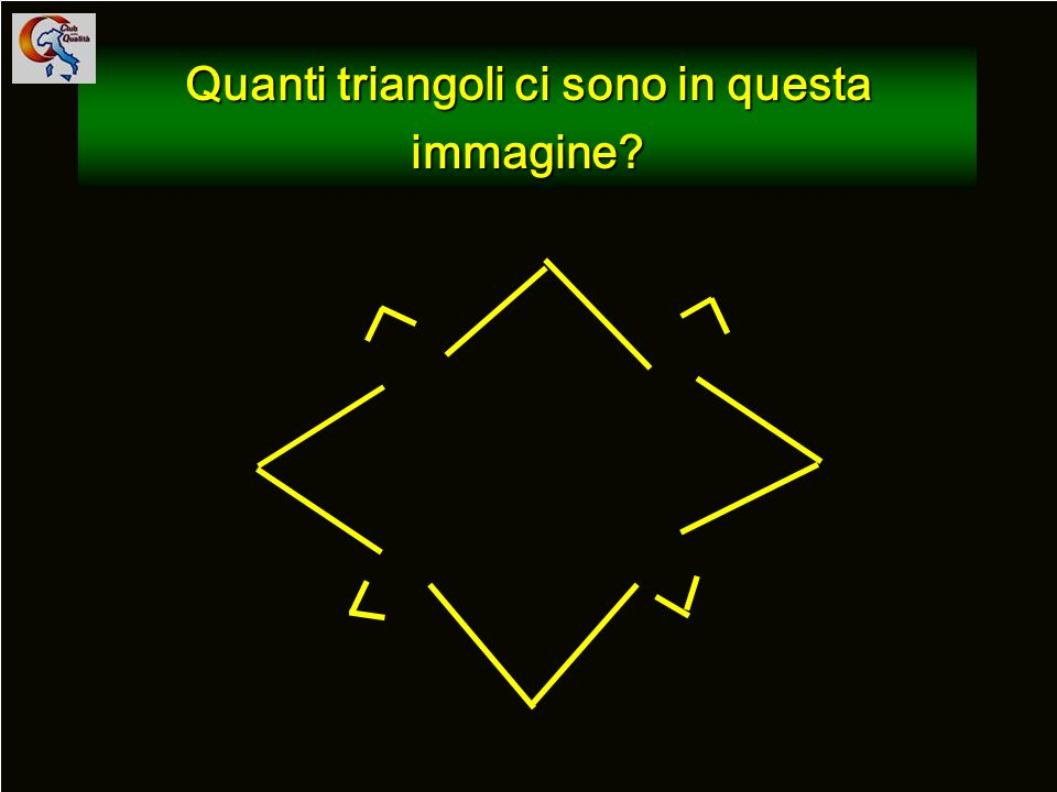 Quanti triangoli ci sono in questa immagine