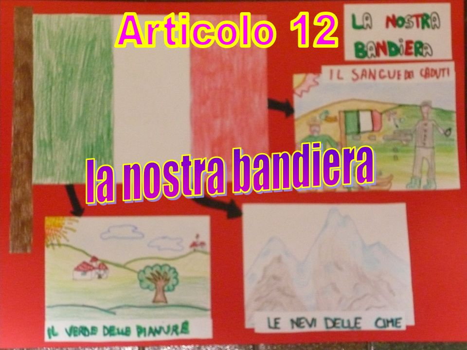 Articolo 12 la nostra bandiera