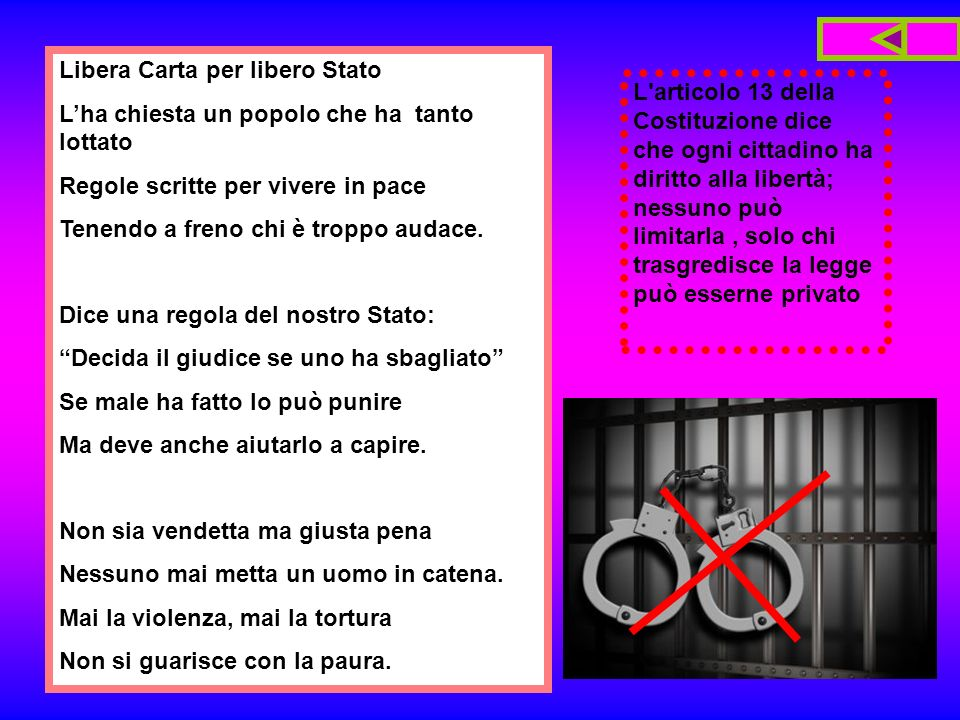 Libera Carta per libero Stato