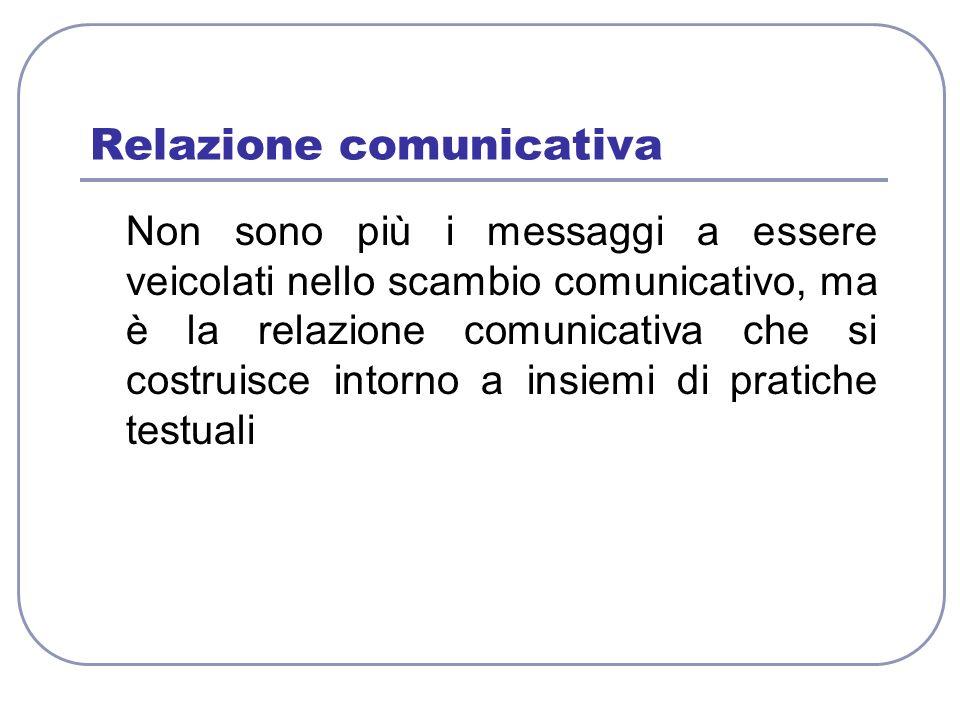 Relazione comunicativa