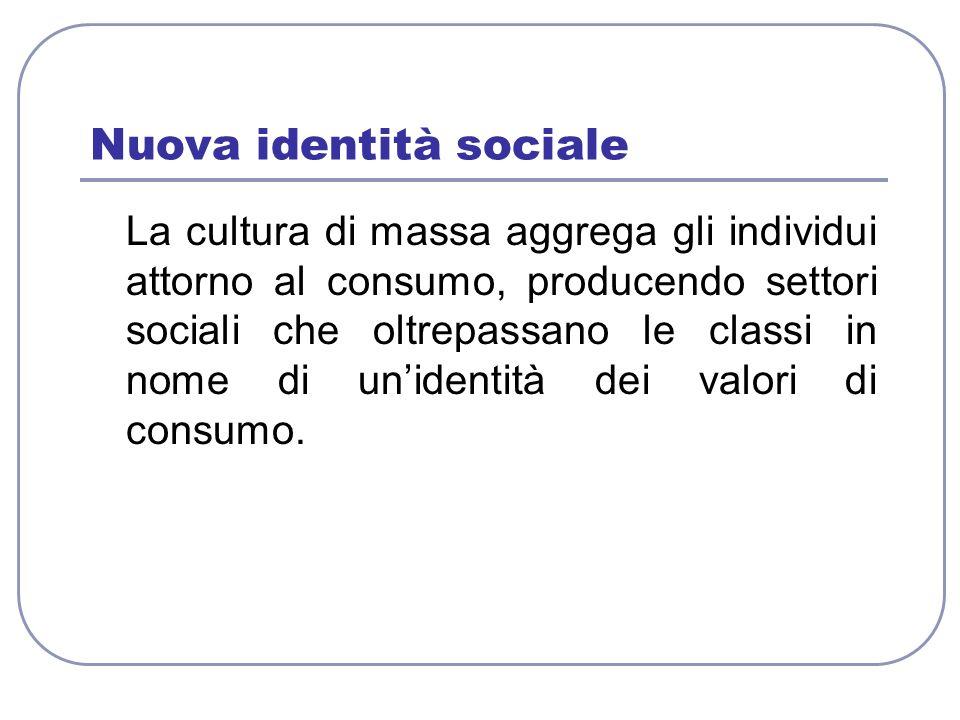 Nuova identità sociale
