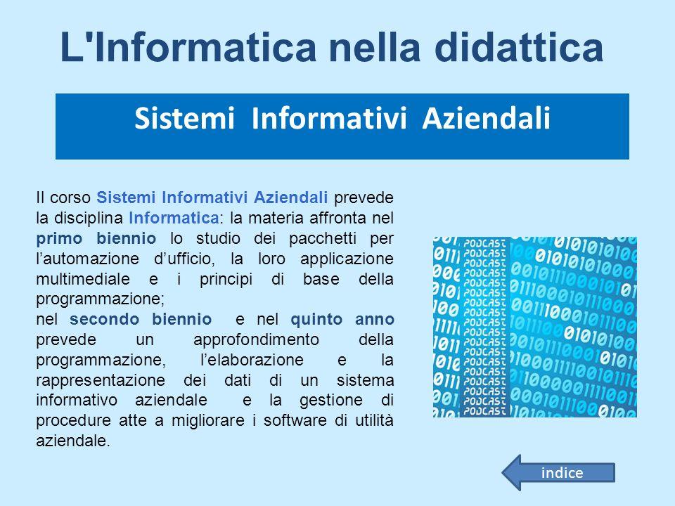 Sistemi Informativi Aziendali