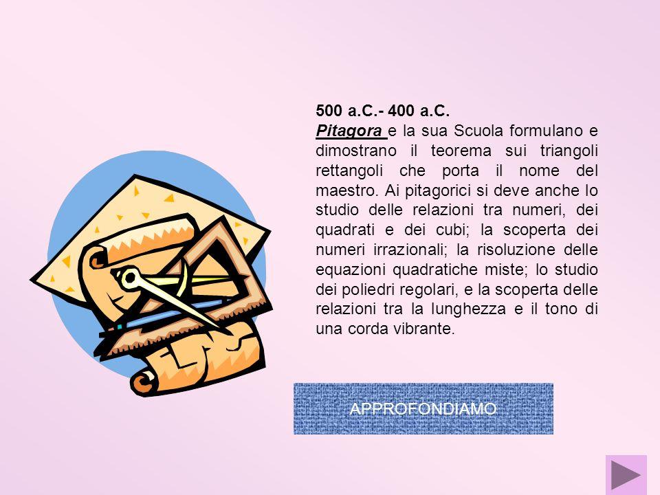 500 a.C.- 400 a.C.