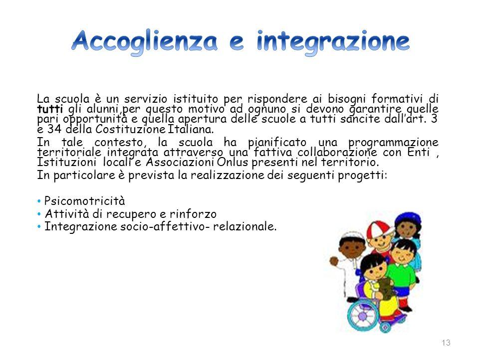 Accoglienza e integrazione