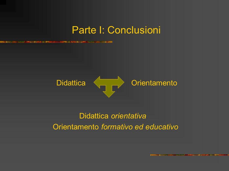 Orientamento formativo ed educativo