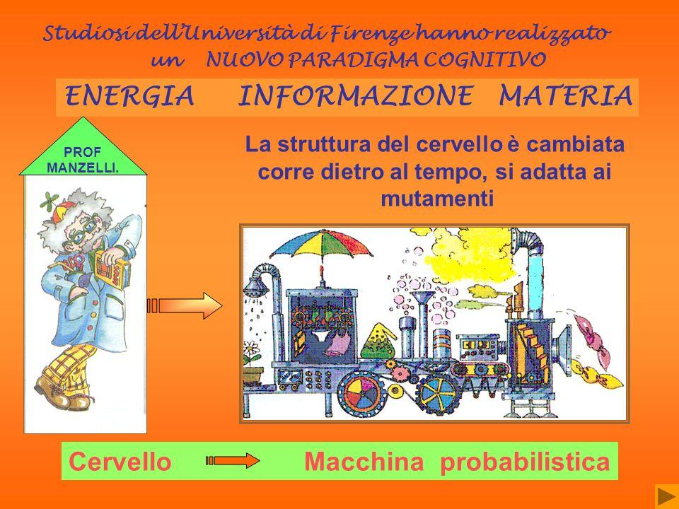 ENERGIA INFORMAZIONE MATERIA