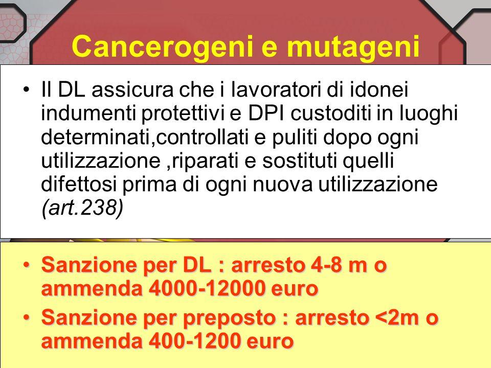 Cancerogeni e mutageni