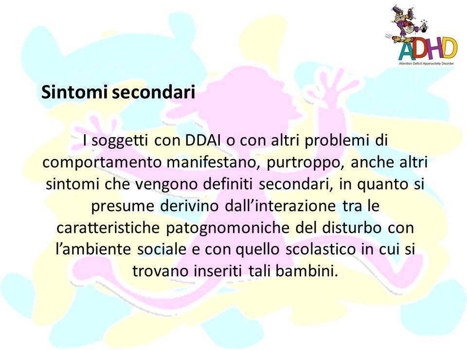 Sintomi secondari