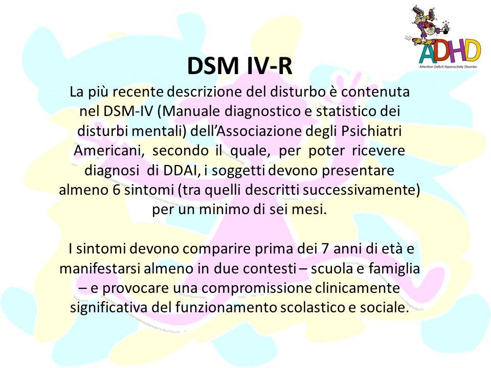 DSM IV-R
