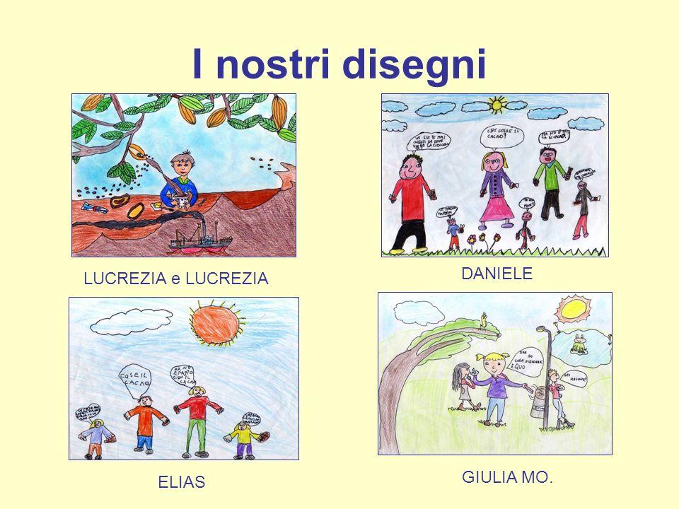 I nostri disegni LUCREZIA e LUCREZIA DANIELE GIULIA MO. ELIAS