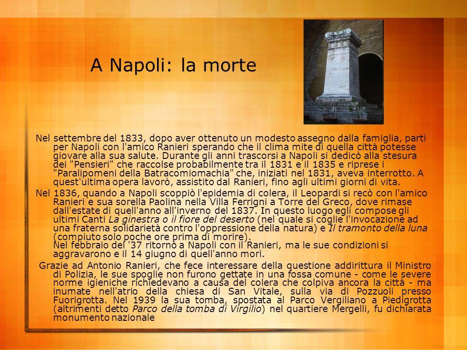A Napoli: la morte