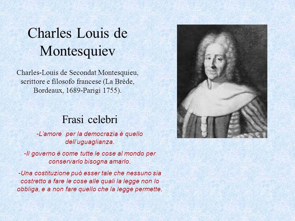 Charles Louis de Montesquiev
