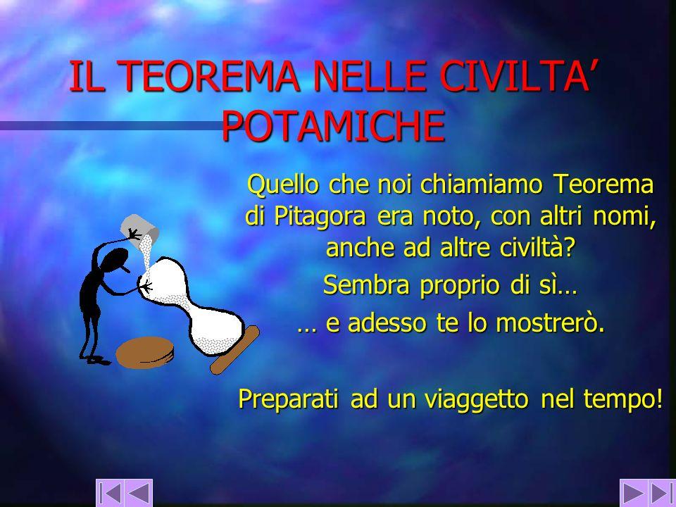 IL TEOREMA NELLE CIVILTA' POTAMICHE