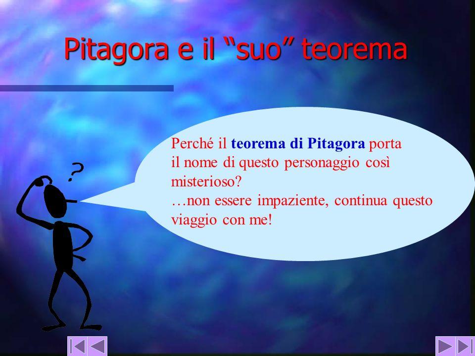 Pitagora e il suo teorema
