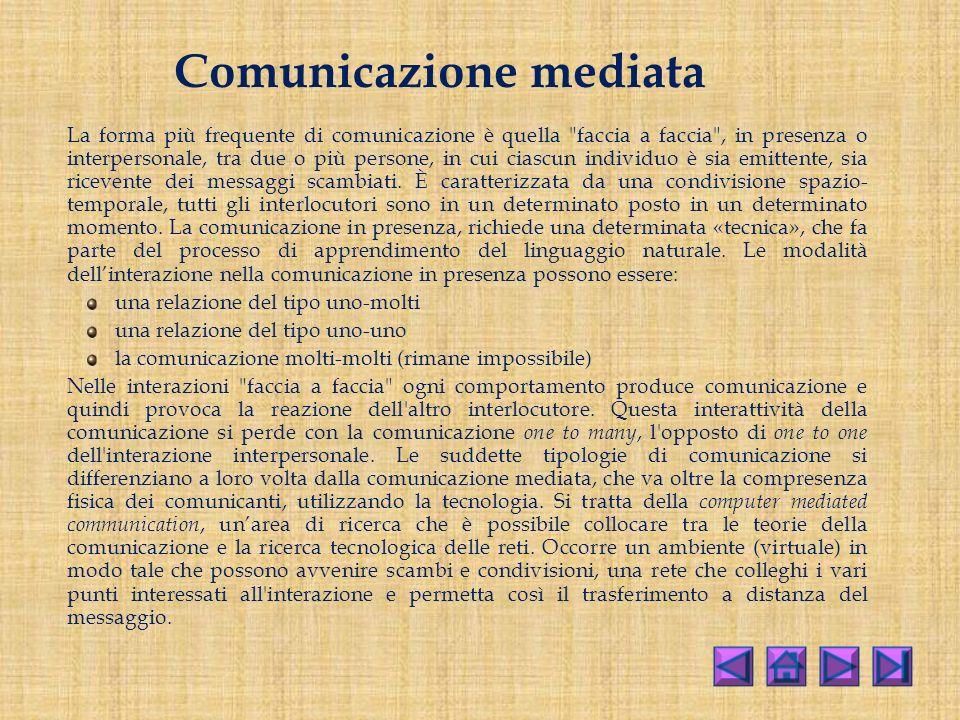 Comunicazione mediata