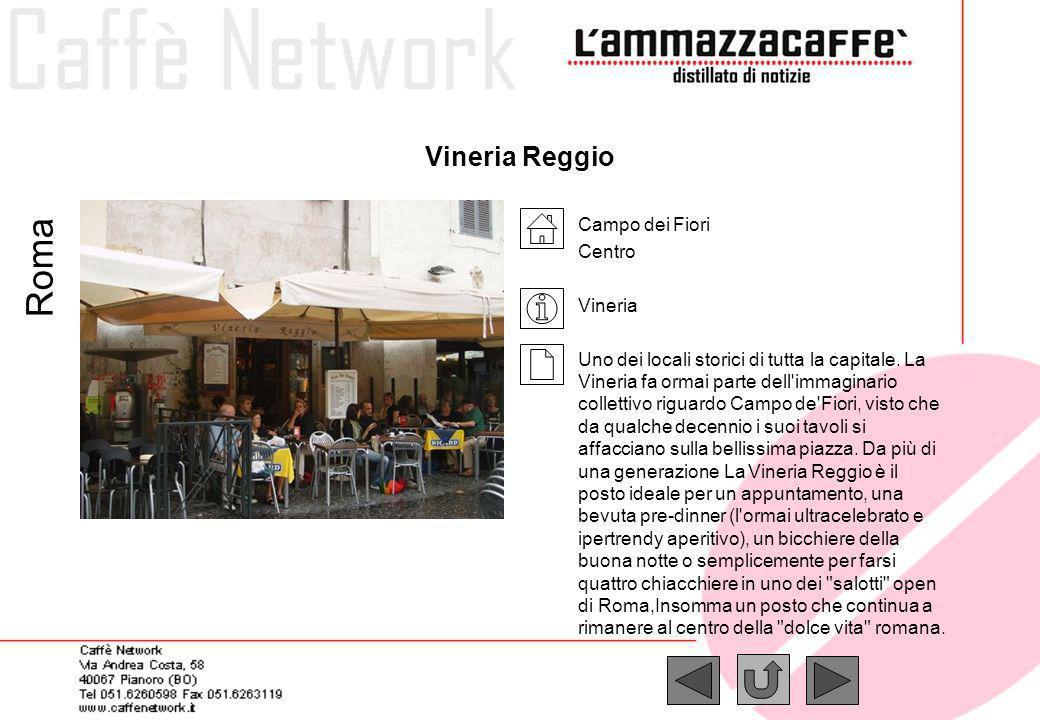 Roma Vineria Reggio Campo dei Fiori Centro Vineria