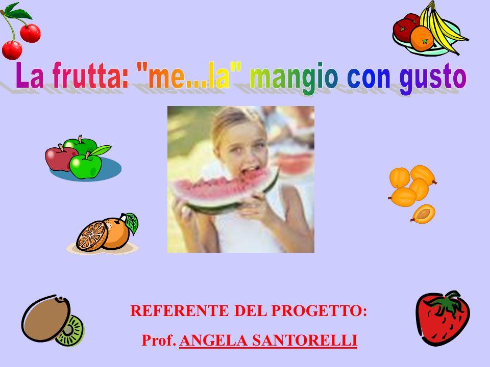 REFERENTE DEL PROGETTO: Prof. ANGELA SANTORELLI