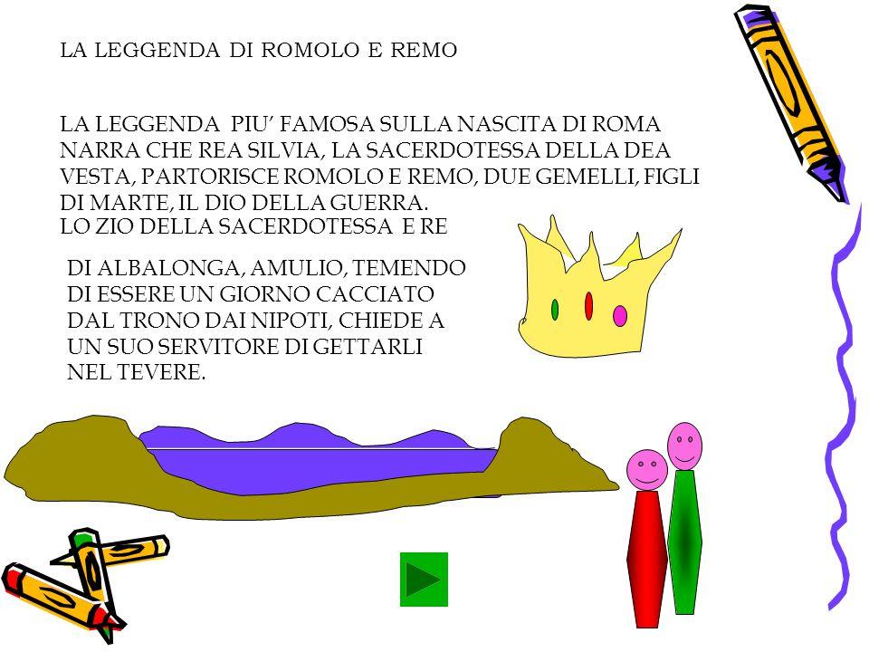 LA LEGGENDA DI ROMOLO E REMO