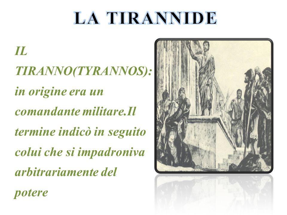 LA TIRANNIDE